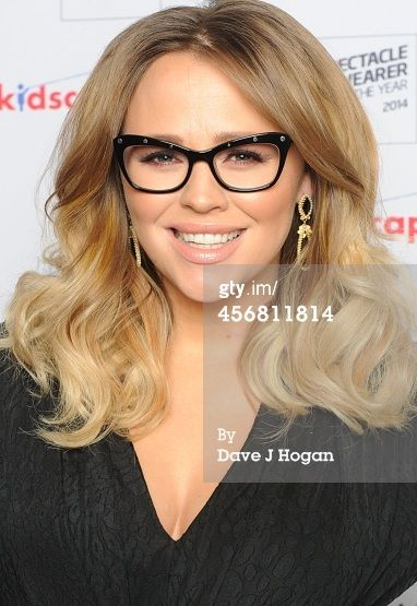 Kimberley Walsh wore the Black Onyx Earrings last night to the Spectacle Wearer of The Year Awards where she was performing!