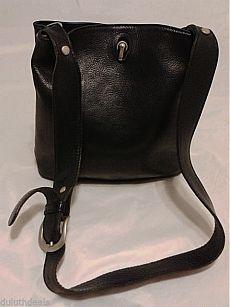 I PONTI FIRENZE ITALY leather Shoulder Bag, Bucket Bag