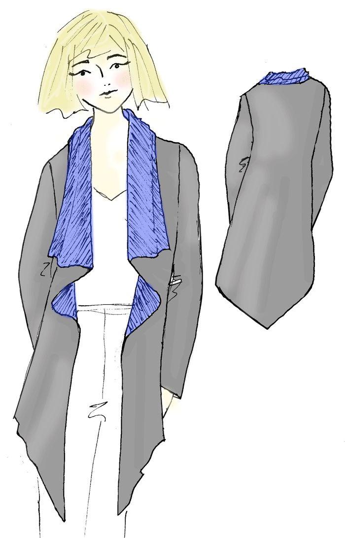 October's design challenge garment