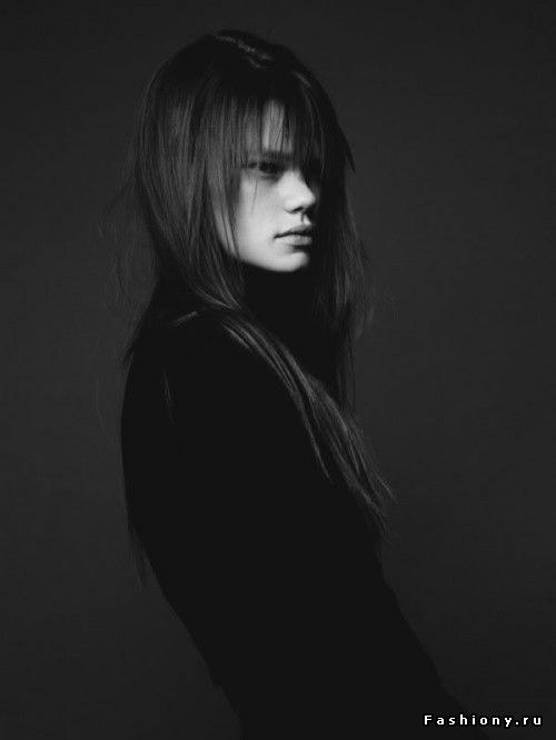 Необычная модель Келли Миттендорф / нестандартная внешность