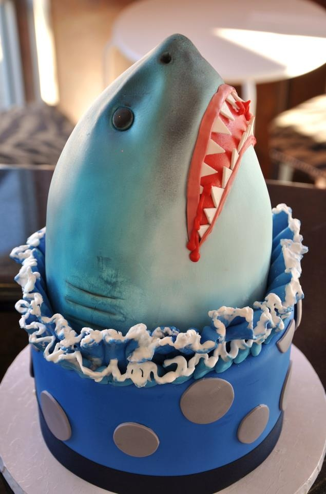 How To Make A Jaws Inspired Cake