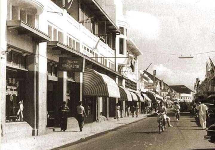 Jl. Braga, Bandung 1950an