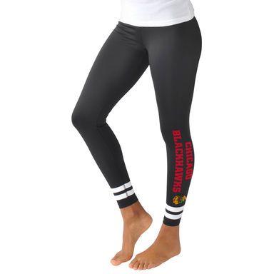 Chicago Blackhawks G-III Sports by Carl Banks Women's Velocity Leggings - Black