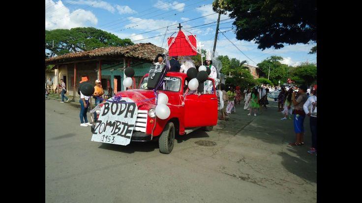 Carnaval-Desfile de Comparsas  y carrozas 133 Años de Andalucia Valle-Co...