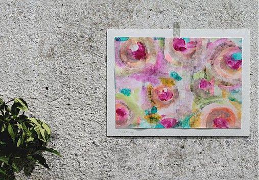 Mi. v záhrade by LucyHudec - SAShE.sk - Handmade Obrazy