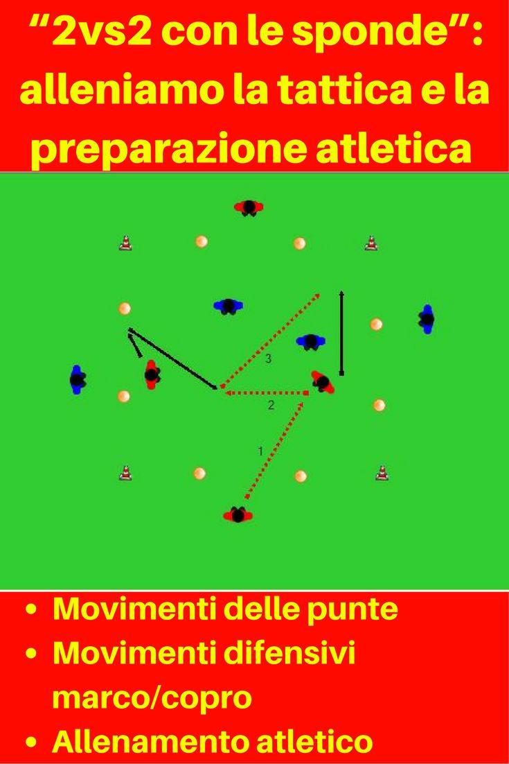 """""""2vs2 con le sponde"""": un mezzo universale per la tattica e la preparazione atletica (seconda parte)"""