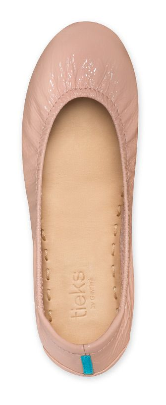 Inspired by the warmth of a beautiful smile on a perfectly rouged cheek, Blush is the perfect finishing touch to any look. | Tieks Ballet Flats