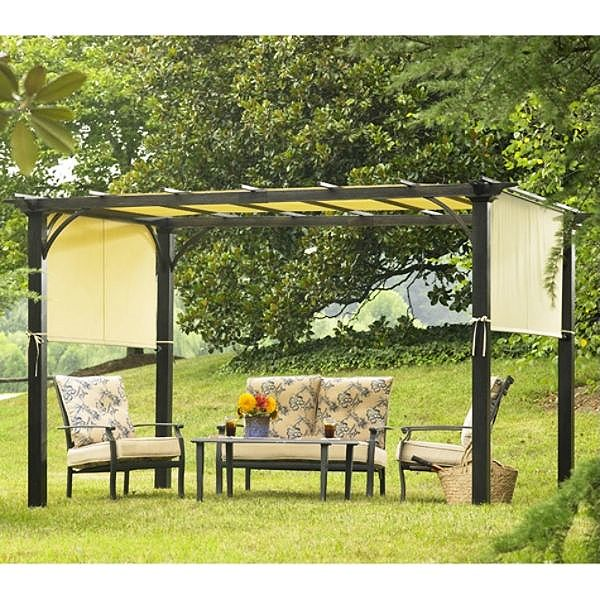 Sears Garden Oasis Deluxe Pergola 2010 Replacement Canopy
