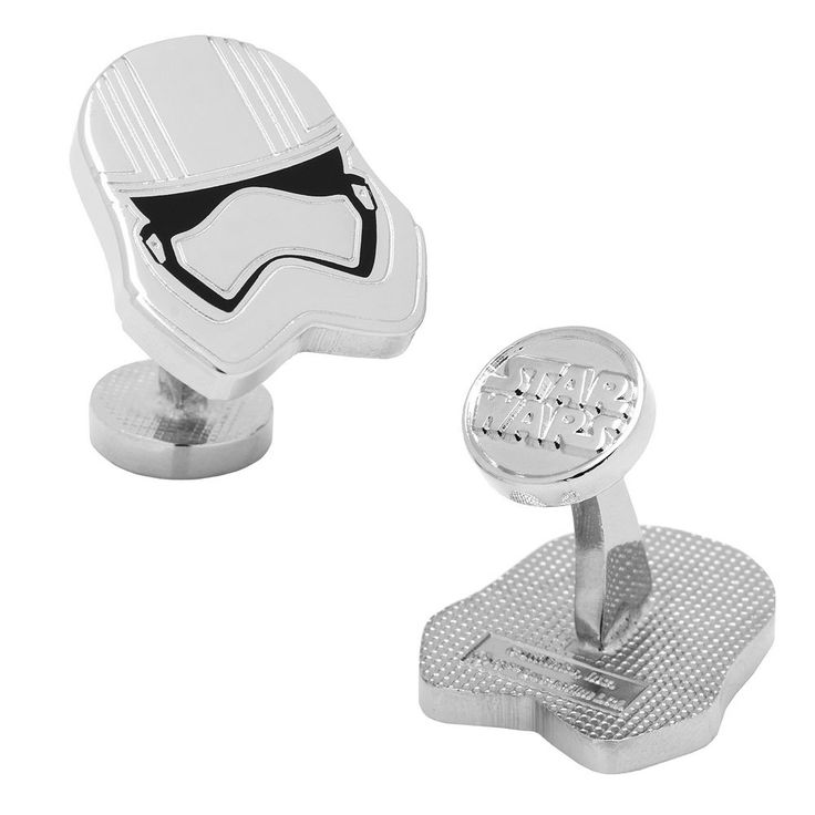 Star Wars: Episode VII The Force Awakens Captain Phasma Cuff Links, Men's, Silver