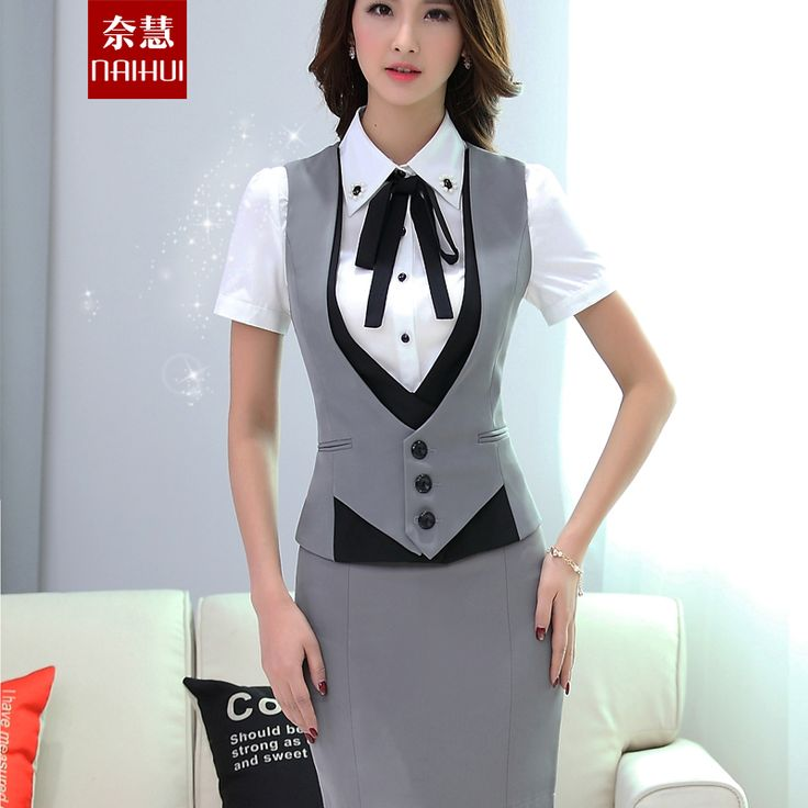 Women Work wear suit vest patchwork waistcoats spring autumn summer plus size professional elegant ol formal vest coat 4 colors-in Vests & Waistcoats from Women's Clothing & Accessories on Aliexpress.com | Alibaba Group