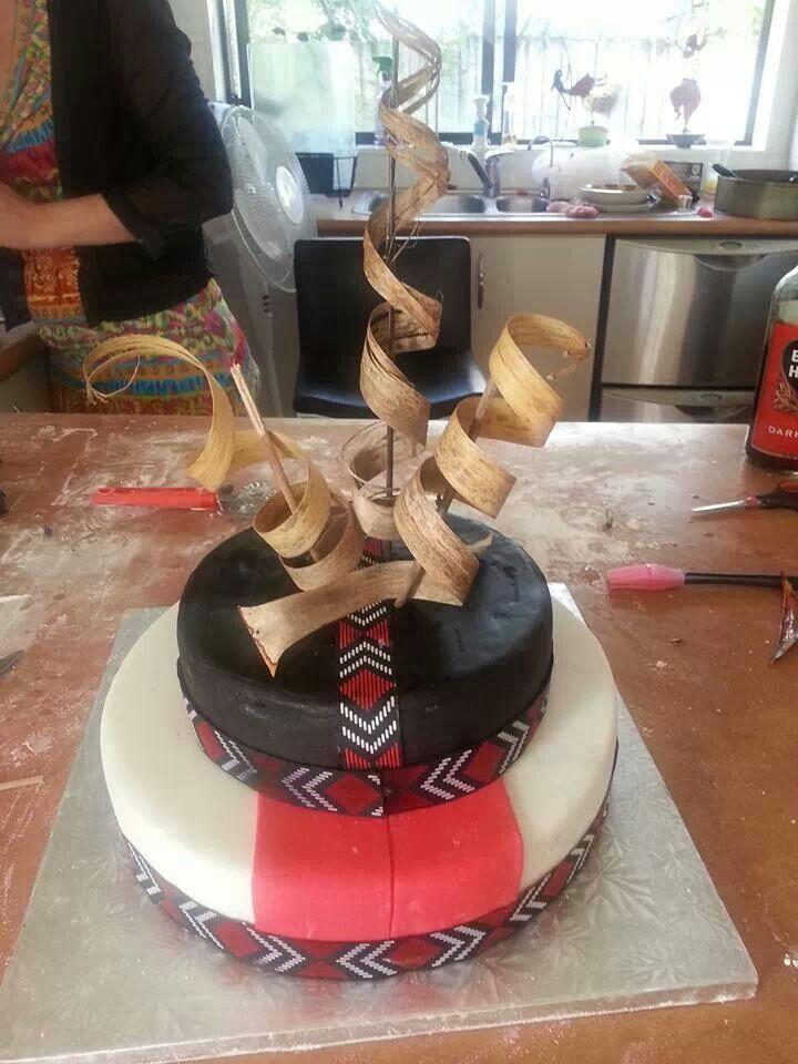 Maori Cake Maori Design Influences Cultural