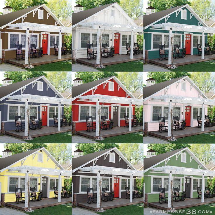 Farmhouse Exterior Colors 150 best front porch pergola images on pinterest   craftsman homes