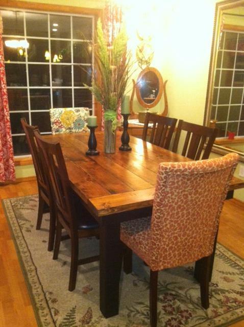 Nice Farmhouse Table From James+james Www.carpenterjames.com
