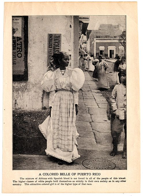 Analyzing 1890s Puerto Rican fashion, colonialism, and leg-of-mutton sleeves in honor of #FashionWeek. #NYFW