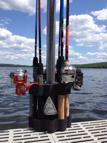 Fishing rod holders rod holders and fishing rods on pinterest for Fishing pole holders for boats
