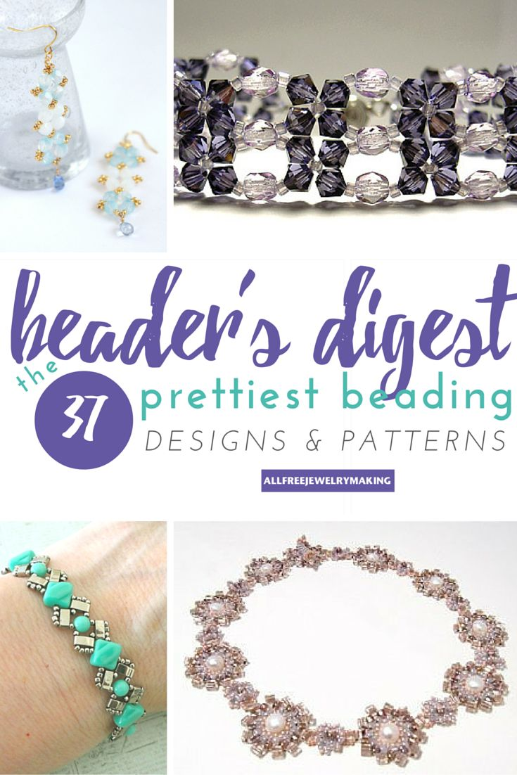 40 best beautiful free beading patterns images on pinterest beaders digest the 37 prettiest beading designs and patterns youve ever seen fandeluxe Images