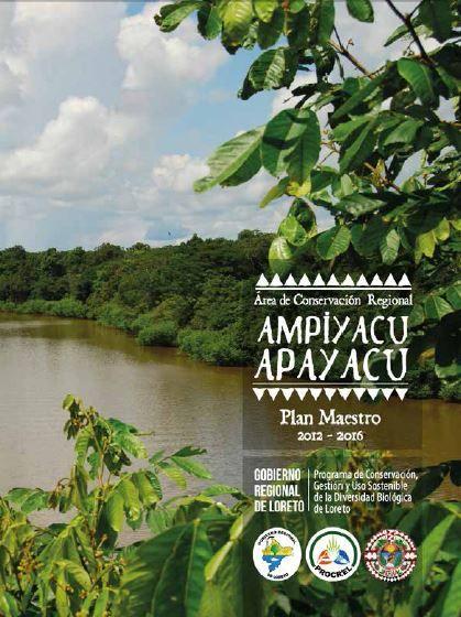 Plan Maestro del Área de Conservación Regional Ampiyacu-Apayacu 2012-2016 (2013). http://catalogo.ibcperu.org/cgi-bin/koha/opac-detail.pl?biblionumber=16531