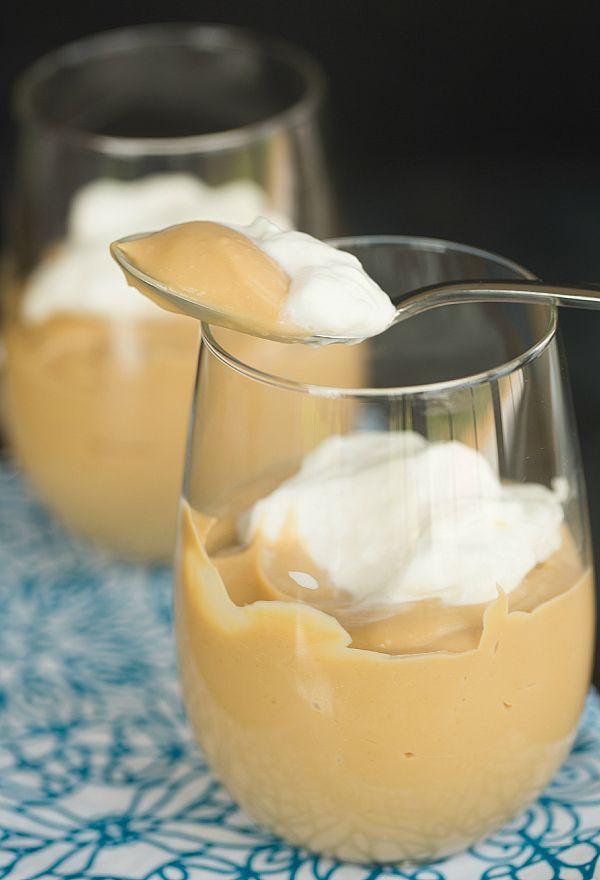 Butterscotch Pudding | browneyedbaker.com #recipe