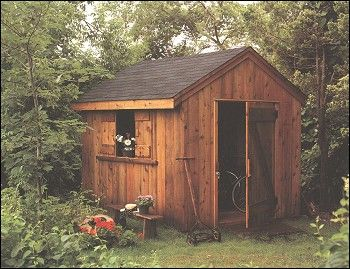 Sheds Book - Do-It-Yourself Guide for Backyard Builders.