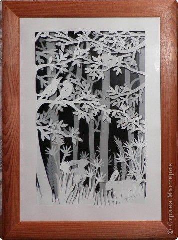 Картина, рисунок, панно Бумажный туннель: Заблудилась я в туннеле....повторяюсь,но не могу остановиться. Бумага. Фото 1
