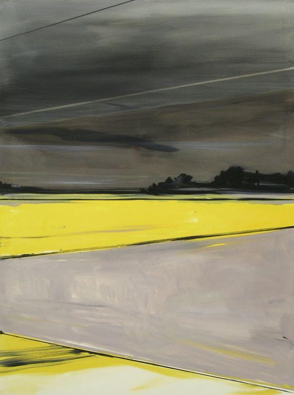 "Saatchi Art Artist: Matthieu van Riel; Oil 2011 Painting ""Dutch landscape"""