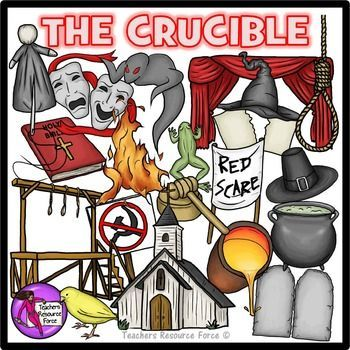 The Crucible Clip ArtThis is a 42 piece quality clip art set with both color and black & white, for The Crucible!Set includes: 10 commandment stones (blank to add own text)…