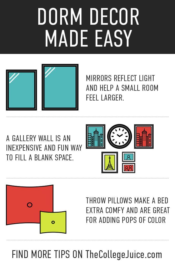 317 best dorm decor images on pinterest college apartments college life and dorms decor. Black Bedroom Furniture Sets. Home Design Ideas