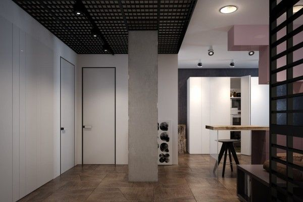 Accentuate the positive in two artful apartments гостиные pinterest apartments neutral palette and kitchens