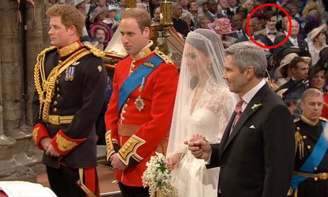 Dr Who spotted at Royal Wedding