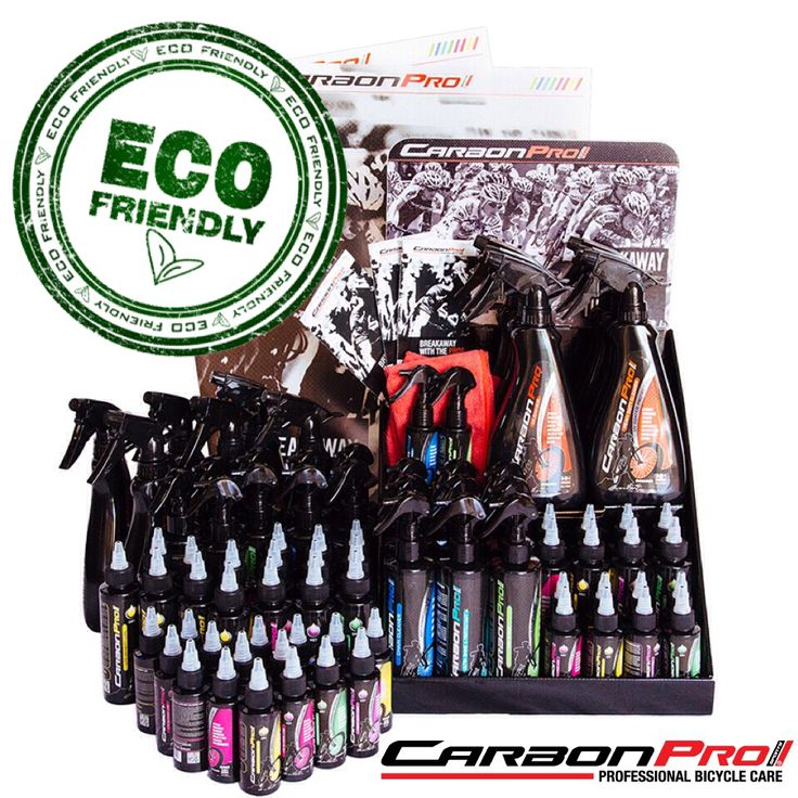 CarbonPro Sport products are specially created to clean, protect and prolong the life and beauty of your carbon fiber bike! The only one with UV protection!