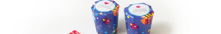 Prepará souvenirs con vasos de papel