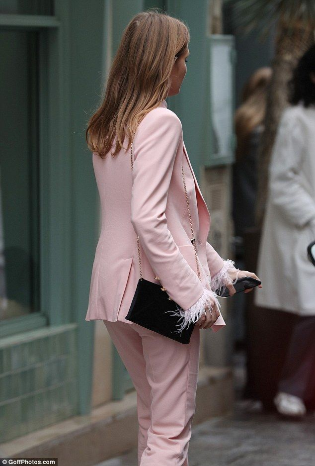 Millie Mackintosh struts her way to a meeting in Paris | Daily Mail Online