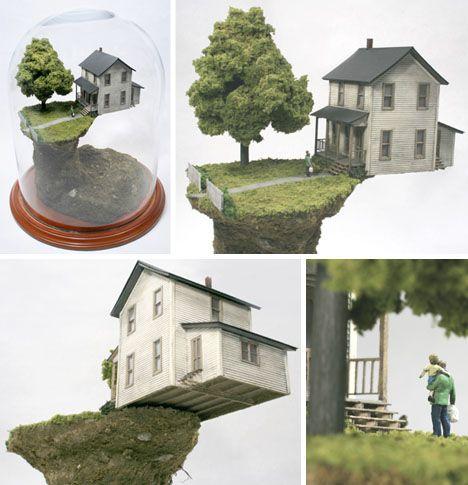 Sculptural Stories: Delightfully Disturbing Miniature Worlds