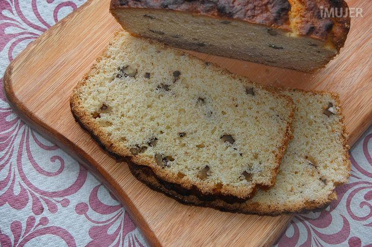 Exquisito pan de nuez para hacer en casa