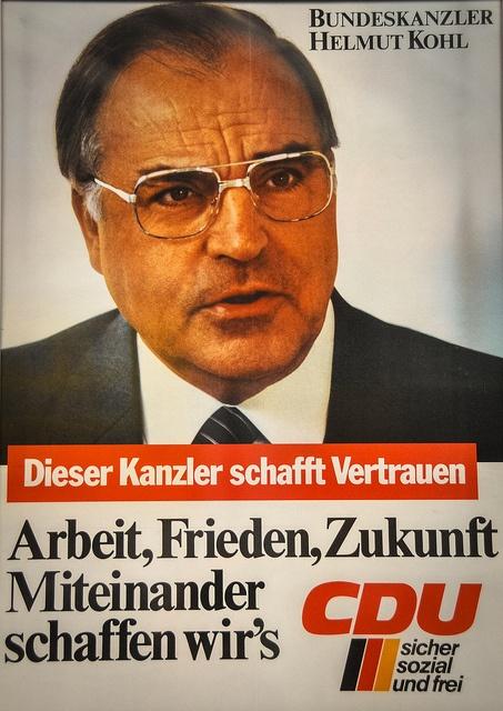 1980's Helmut Kohl CDU Campaign...