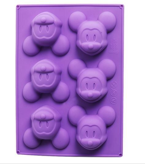 Mickey Mouse Silicone Mold for Birthday Cake Decoration Disney
