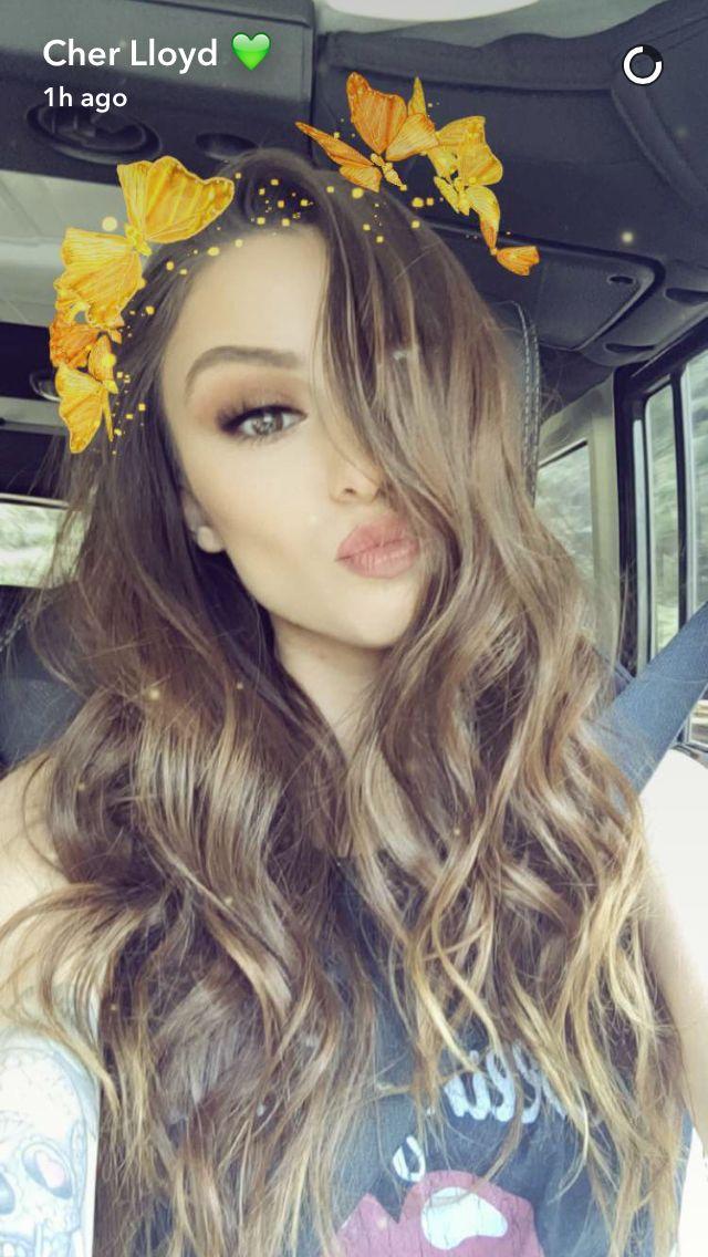 Cher on snapchat