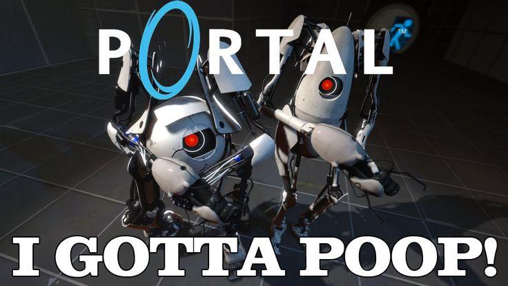 I GOTTA POOP | Portal Gameplay | PC