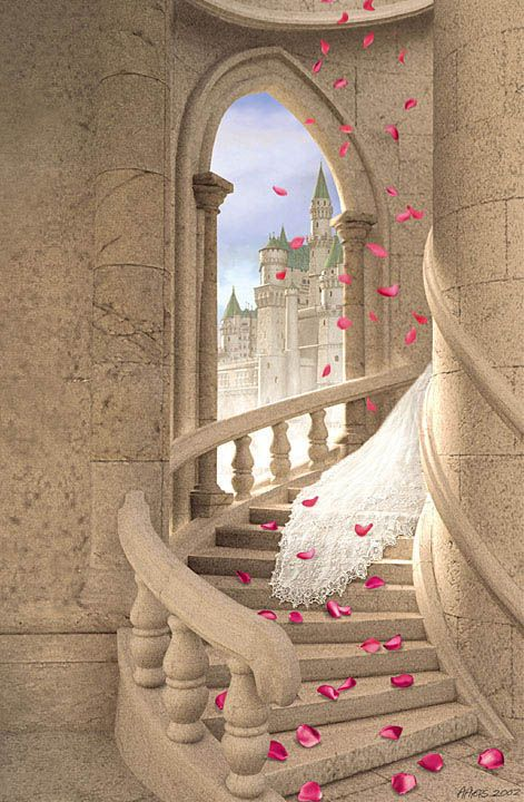 The Enchantress  Someday I hope to get married to someone specail and live together for ever.  AND, HAVE A BIG WEDDING