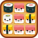nice Sushi Time  Puzzle game where you connect sushi before you run out of moves. Collect the right sushi to finish each puzzle! Be strategic and puzzle your way throu... https://gameskye.com/sushi-time/