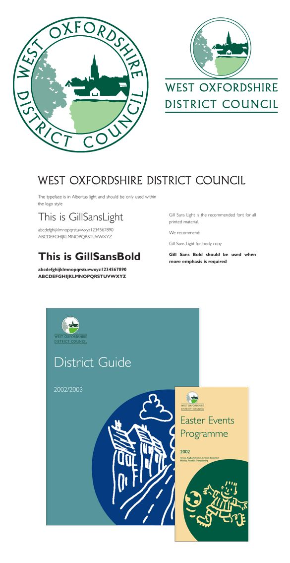 Local Council corporate identity and branding