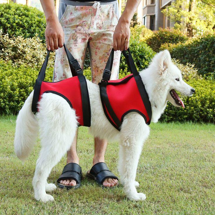 Ascensores perro chaleco de apoyo ayuda de mascotas productos chien collar leash arnés para perros mascotas arnés del perro con una manija de elevación py0015(China (Mainland))