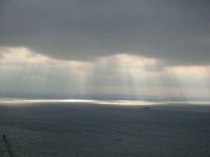 Portugália, fények a vizen