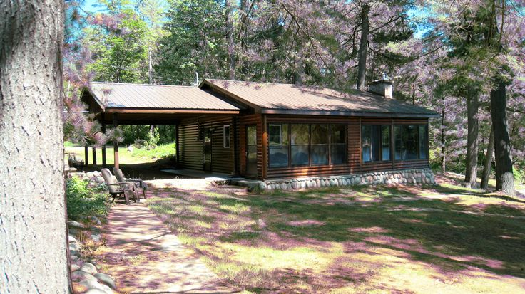 Beautiful log cottage