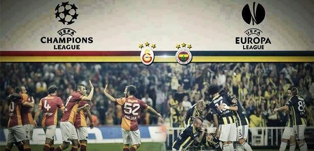 Congratulations Uefa Champions League and Uefa Europa League Quarter Finalists: Galatasaray & Fenerbahçe.