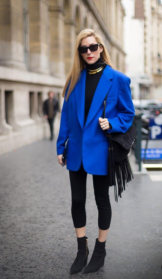 Inspirasi Bergaya Boyish Dengan Oversized Blazer | Style.com Indonesia