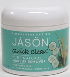 Quick Clean Pure Natural Makeup Remover Pads by Jason – VeganEssentials Online Store