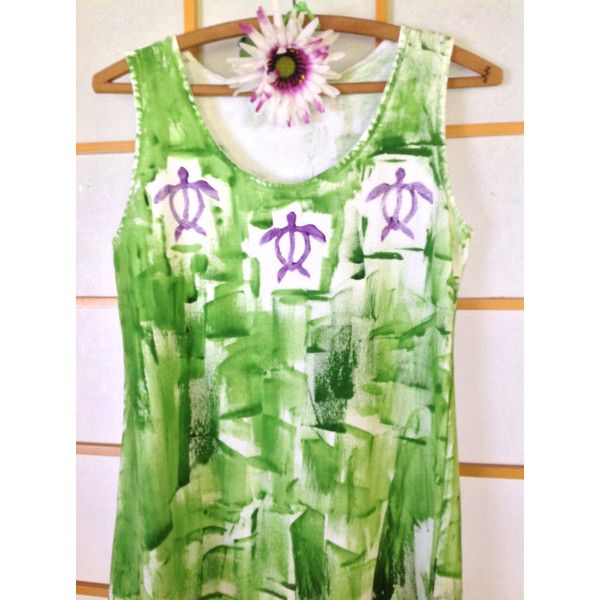 Hand Painted Sun Dress Hawaii Beach Dress Plus Size Cover Up Resort... ($60) ❤ liked on Polyvore featuring dresses, silver, women's clothing, women's plus size dresses, plus size sundresses, plus size sun dresses, plus size beach dresses and plus size a line dresses