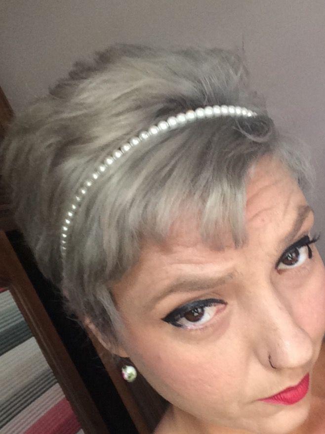 Hair gris
