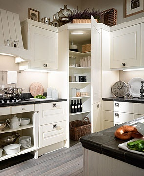 Corner Pantry Design Hide Electric Panel Kitchen